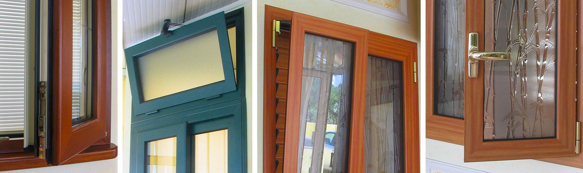 Finestre pvc legno finestre pvc alluminio e legno - Finestre pvc prezzi bassi ...
